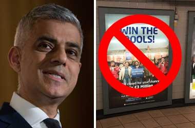 TFL Asked To Ban All Gambling Advertisements By London's Mayor