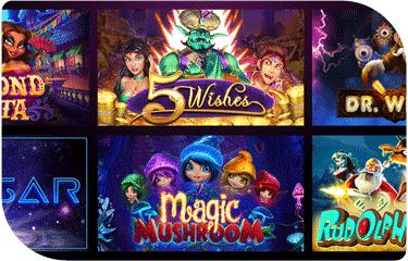 El Royale Casino game selection