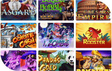 Free Spin Casino game selection