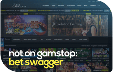 not on gamstop: bet swagger
