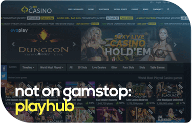 not on gamstop: playhub
