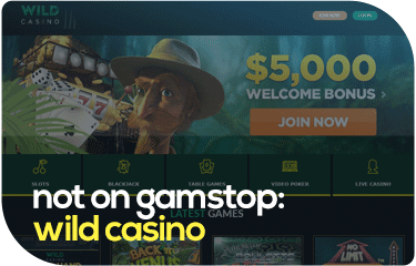 not on gamstop: wild casino