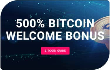 500% Bitcoin Welcome Bonus